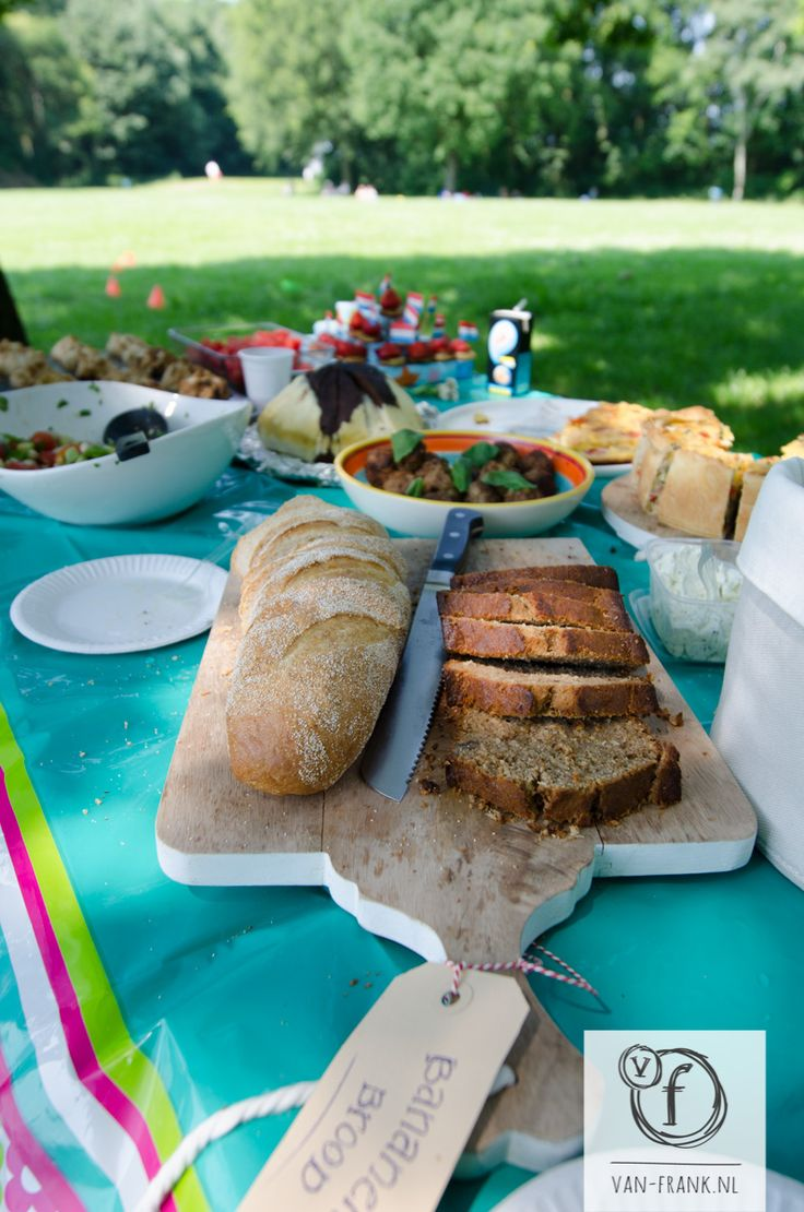 Having a 'bring-your-own' party in the park