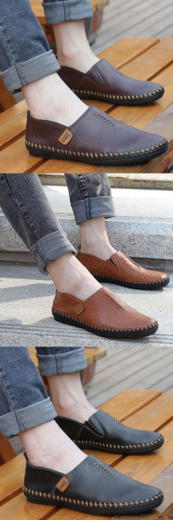 US$45.53+ Free Shipping. 3 colors available. Men loafers, casual comfortable shoes,  oxford shoes, boots, Fashion and chic, casual shoes, men's flats, oxford boots,leather short boots,loafers, casual oxford shoes,slip on  men's style, chic style, fashion style.  Shop at banggood with super affordable price. #men'sshoes#men'sstyle#chic#style#fashion#style#wintershoes#casual#shoes#casualshoes#boots#oxfordshoes#loafers#slipon#flats