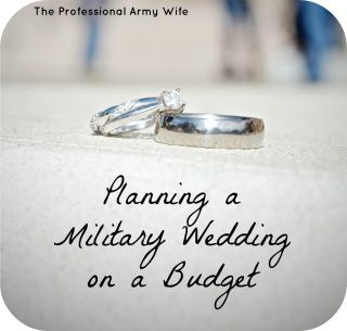 Planning a Military Wedding on a Budget