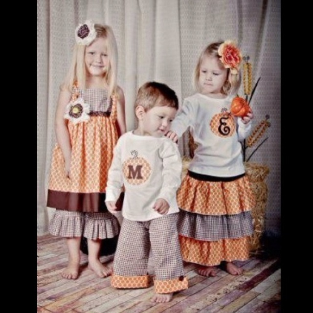 Cute Fall/Halloween kids outfits