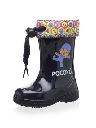 52% OFF igor Kid's Pipo Pocoyo Rain Boot (Marino)