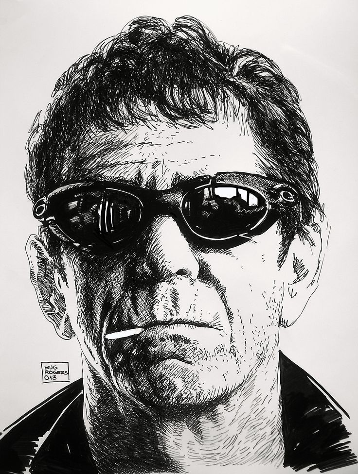 Tribute to Lou Reed by EnricBug