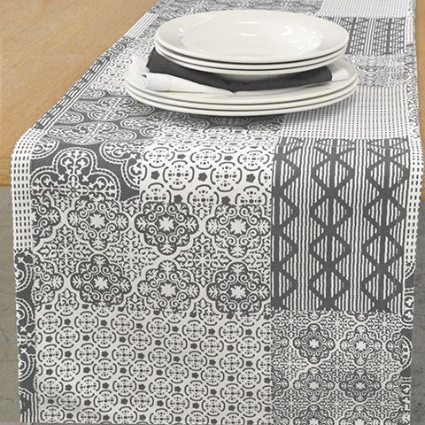 Madras Link Andaman Table Runner