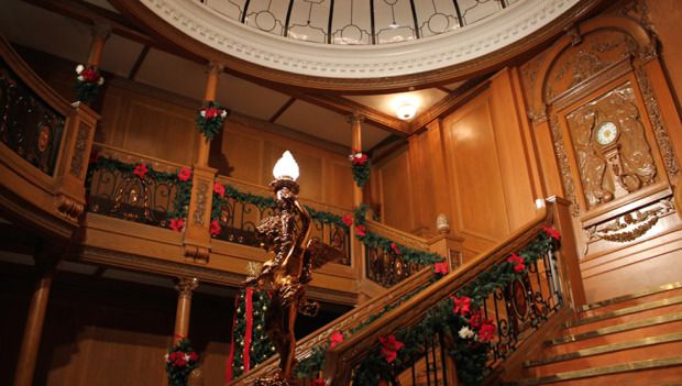 You can now have the opportunity to see what it was like to dine aboard the Titanic during a special holiday dinner. Titanic: The Artifact Exhibition decks its halls for a series of special Edwardian-themed dinners during the holidays.
