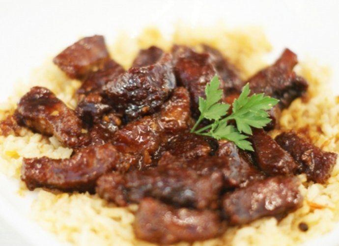 Ternera al estilo mongol para #Mycook http://www.mycook.es/cocina/receta/ternera-al-estilo-mongol