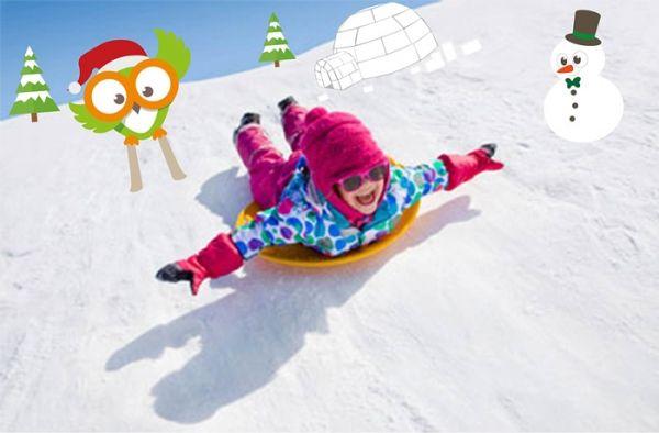 8 activités originales pour des vacances à la neige en famille ! Sensibiliser vos enfants à la nature et à l'environnement, découvrant la montagne autrement. #Montessori www.chouettebox.com