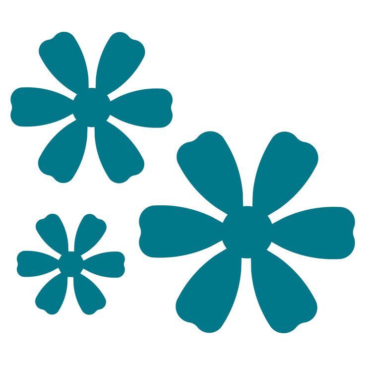 340 best flower power images on Pinterest Flower template - flower template