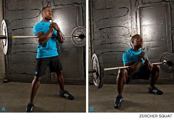 Meet The Squats: 7 Squat Variations You Should Be Doing - ZERCHER SQUATS - Bodybuilding.com