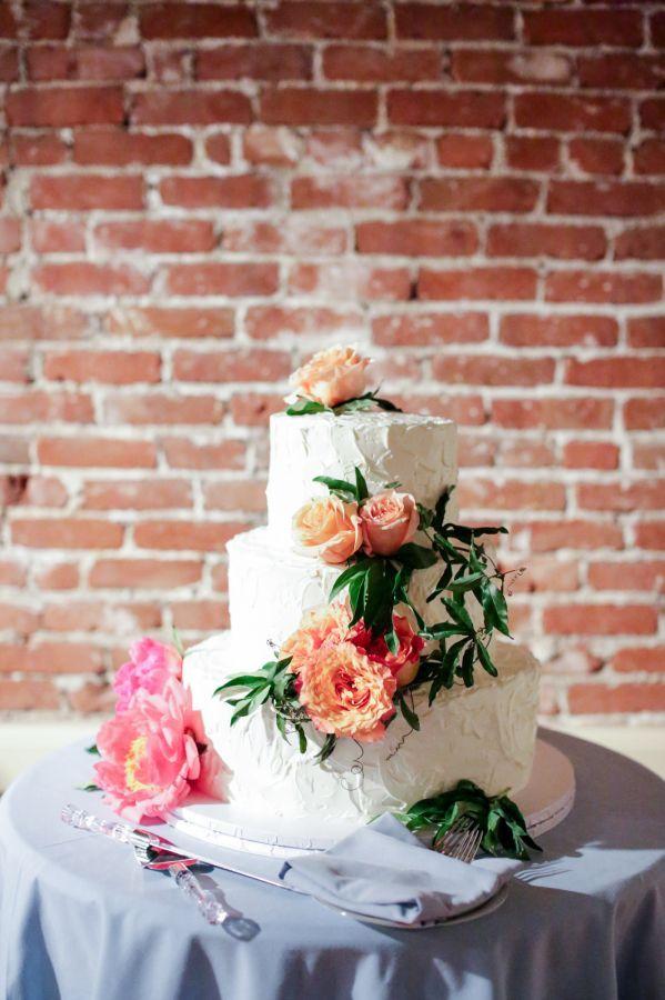 Wedding Cakes  :     Picture    Description  Coral charm peony topped cake: www.stylemepretty… | Photography: Jenny Smith & Co. – www.jennysmithand…    - #Cake https://weddinglande.com/planning/cake/wedding-cakes-coral-charm-peony-topped-cake-www-stylemepretty-photography-jenny-smith/