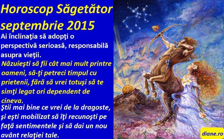 Horoscop Săgetător septembrie 2015