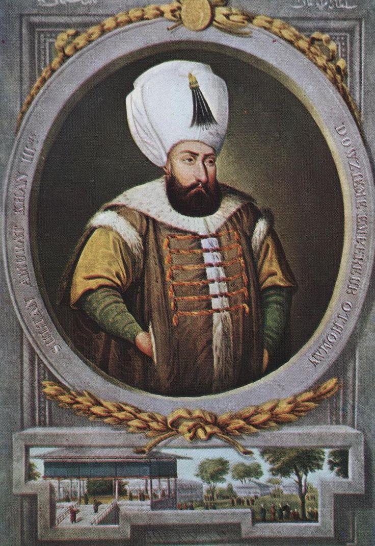 [Ottoman Empire] Sultan Murad III (Reign: 1574-1595)