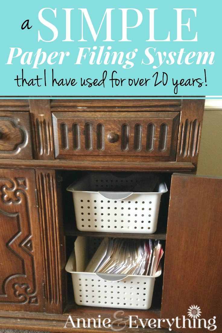 Looking for a simple method for how to organize your life paperwork? I've been using a system for years that takes little effort, space, or thought! :-) Take a look and get organized today!