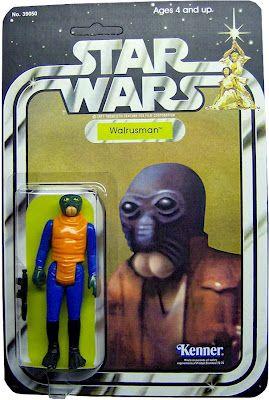 Kenner Star Wars Figure - Walrusman