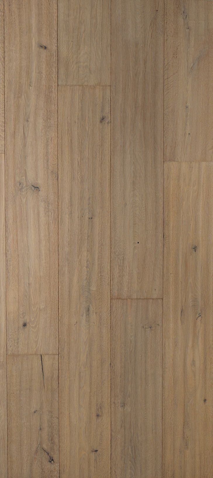 Authentiek verouderde eiken duoplank, zand kleur geolied. Bravoure collectie DE CHILLON 24 cm breed