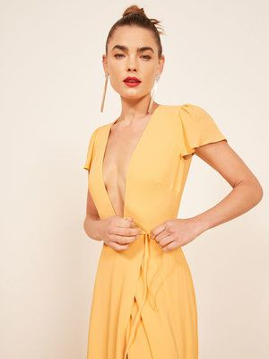 5d53ac1c26 Reformation Rosey Dress -  388