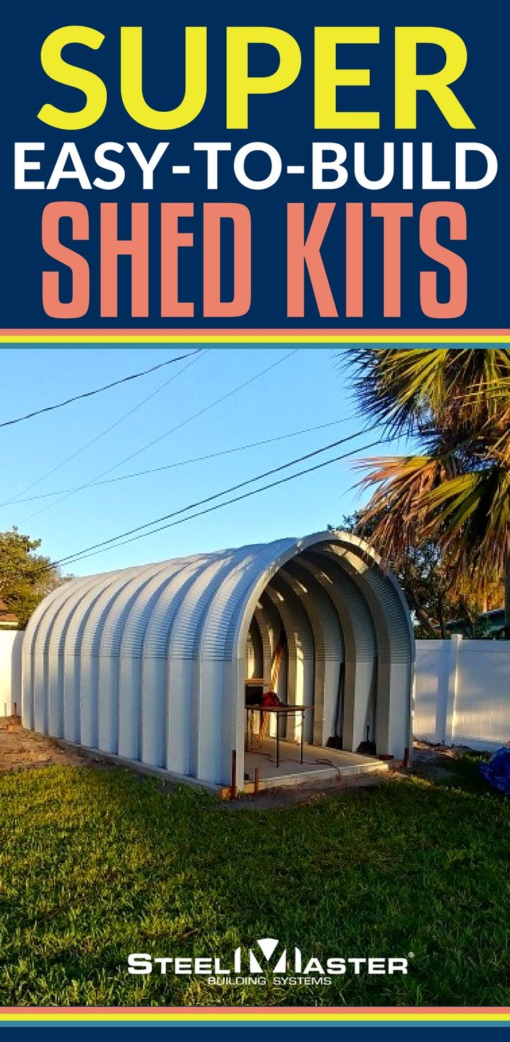 SteelMaster's durable, affordable Quonset Hut metal sheds are specially designed to give customers the best quality storage at a competitive price. storage sheds | storage sheds backyard | storage sheds ideas | storage sheds turned into tiny homes | storage sheds plans |cheap sheds | cheap sheds for sale | cheap sheds diy
