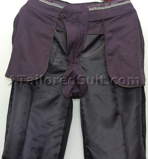 Inside fine men's pants.  Also aspirational.