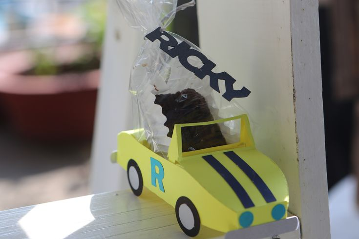 Car Themed Baby Shower, Favors