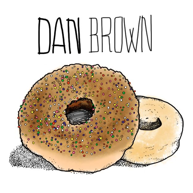 Dan Brown - Imaginary Food Diaries of Famous Authors