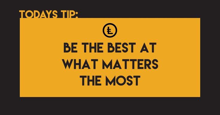 Всегда помните, что важно и кто важен для вас!