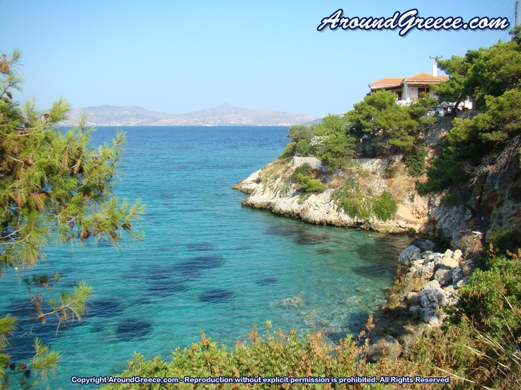 Agistri - a small yet very beautiful island in the Saronic Gulf, Greece