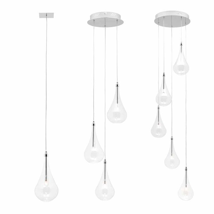 L2-198 Clear Glass Pendant from - Pendant Lighting