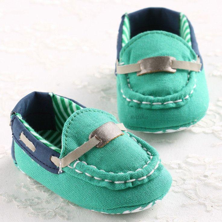 Bébé Chaussures Fille Garçon Chaussons Antidérapant Semelle Souple 0-18 Mois