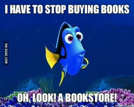 I have no willpower. Asking me to stop buying books is like asking a chocoholic to stop eating Hershey's. http://fancytemplestore.com