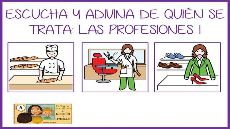 Video para trabajar la comprensión oral y escrita de las profesiones
