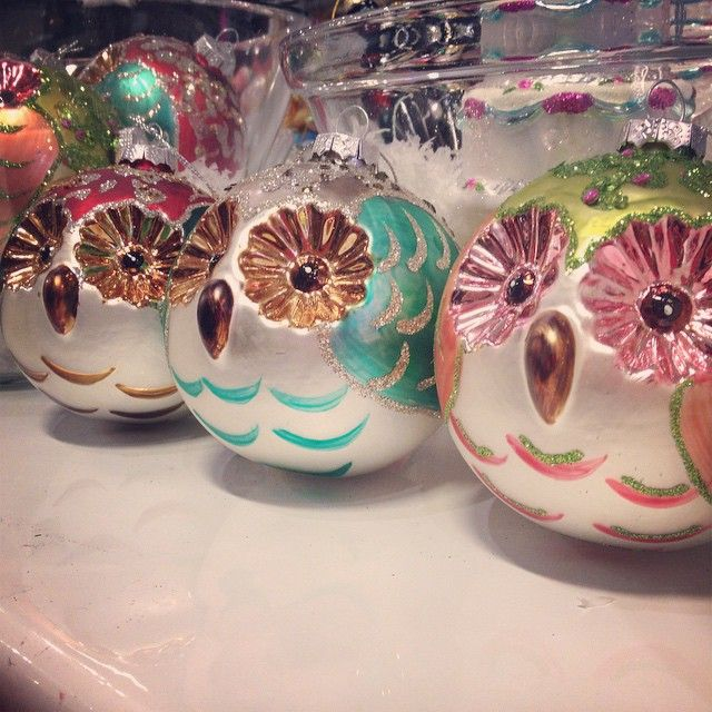 It's all about ornaments #owl #Christmas #holidays #ornaments #Trove #Toronto