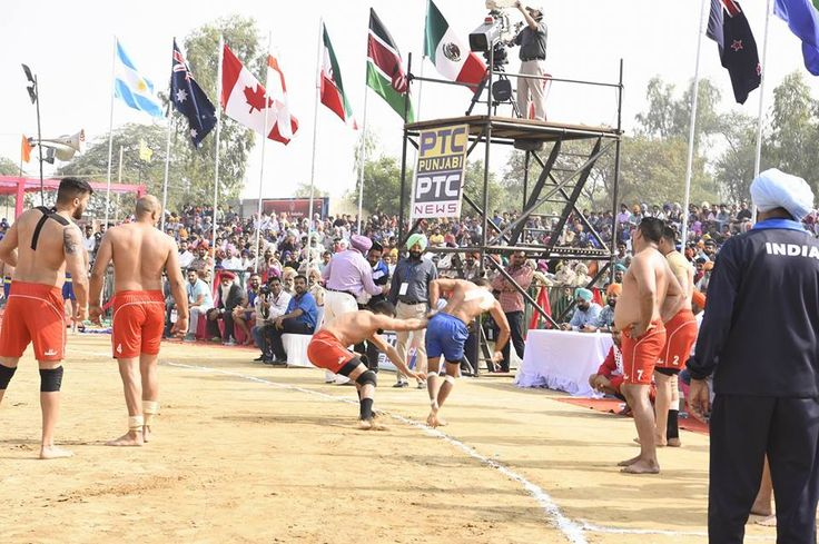 Five matches were held in the Khalsa Stadium of historical Rode village of Moga district. In today's matches, India, USA, Canada and England scored victories over their opponents. In women section, Kenya also scored their first victory of World Cup Kabaddi. Men section teams from Kenya and Sweden lost their third consecutive losses of the mega sporting tournament. Punjab PWD Minister Mr Janmeja Singh Sekhon was the chief guest for today's matches. #AkaliDal #6thWorldCupKabaddi