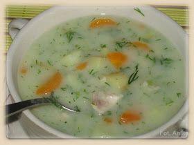 Zupa koperkowa Zupa koperkowa to kolejna potrawa wiosennego stołu. Zupę tę przygotowuję zawsze na wiosnę, gdy na targu pojawiaj...