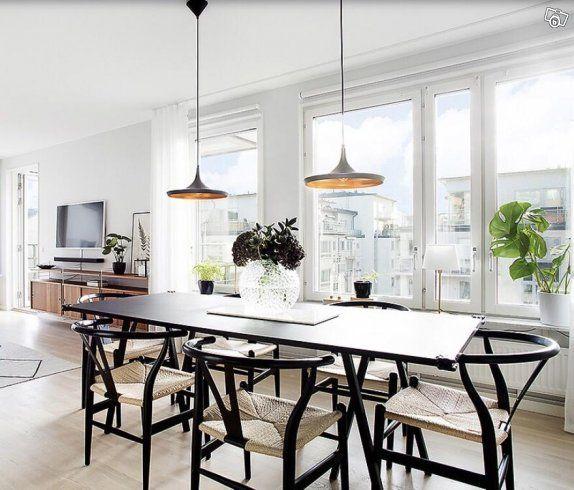 Hay Loop Stand matbord (svart) | Stockholm | Dinner room