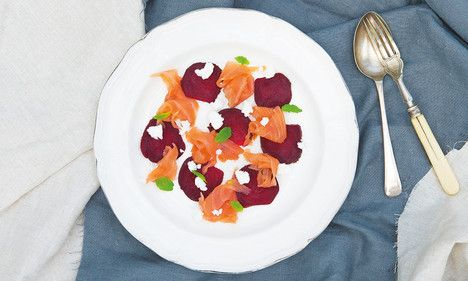 Irish Organic Smoked Salmon & Beetroot Salad #LetsEat