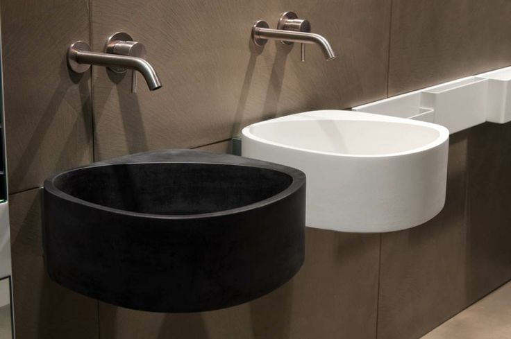Cement washbasin 43x43x16 available in white, black , sand, light grey, tobacco and violet