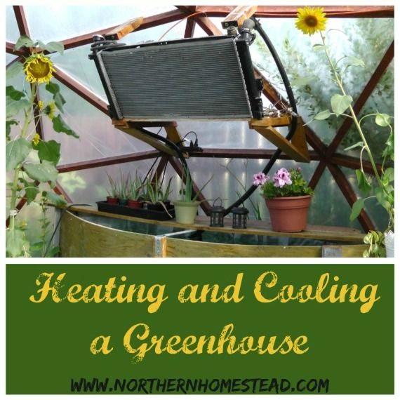 Using a Car Radiator for Heating and Cooling a Greenhouse. This system works in a simple but profound way by using an old car radiator.