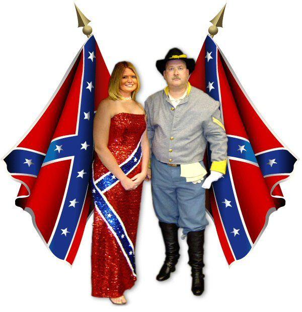Confederate flag wedding dresses az wedding venue for Rebel flag wedding dresses