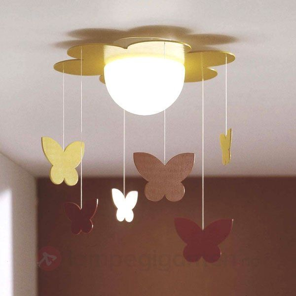Nydelig barneromslampe.