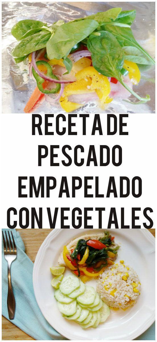 Receta de pescado empapelado con vegetales | The Blog By Taina
