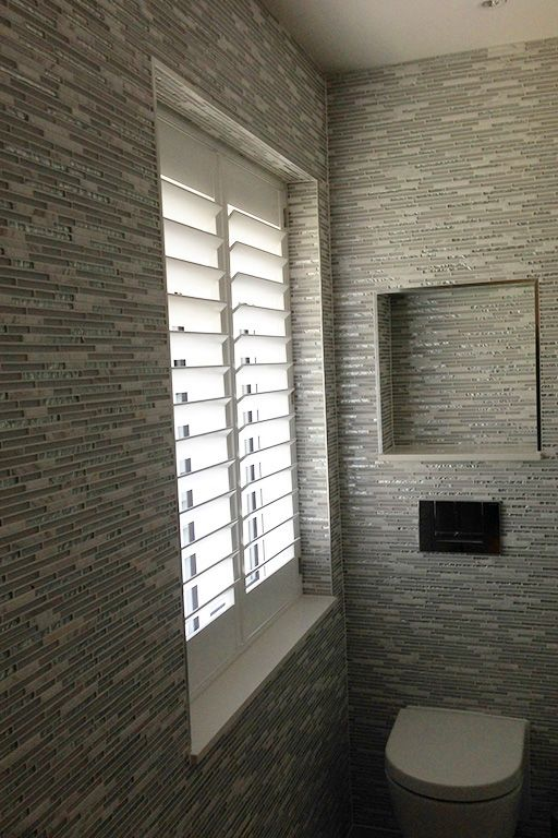 40 best images about bathroom inspiration plantation - Plantation shutters for bathroom ...