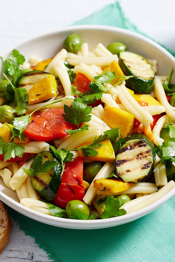 An Australian barbecue isn't complete without a pasta salad, and this delicious recipe should be the next one to try. Quick, easy and packed with beautiful Mediterranean flavours, it's sure to be a hit.