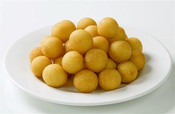 Шарики из картофельного пюре
