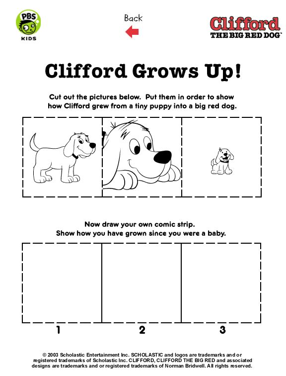 clifford preschool coloring pages - photo#27
