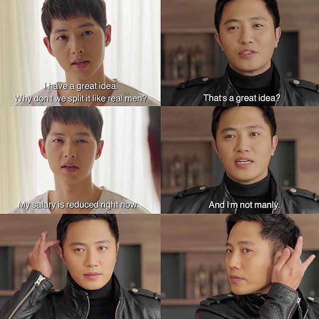 Descendants of the Sun Episode 14 || I swear to God I love it when Yoo Si Jin and Seo Dae Young come out together