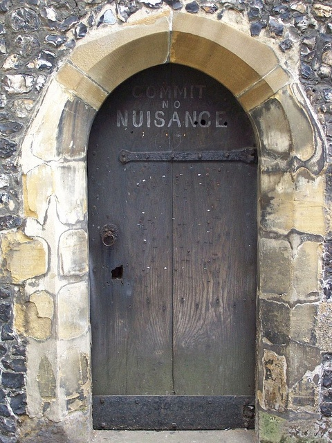 Clock Tower, St Albans, England door