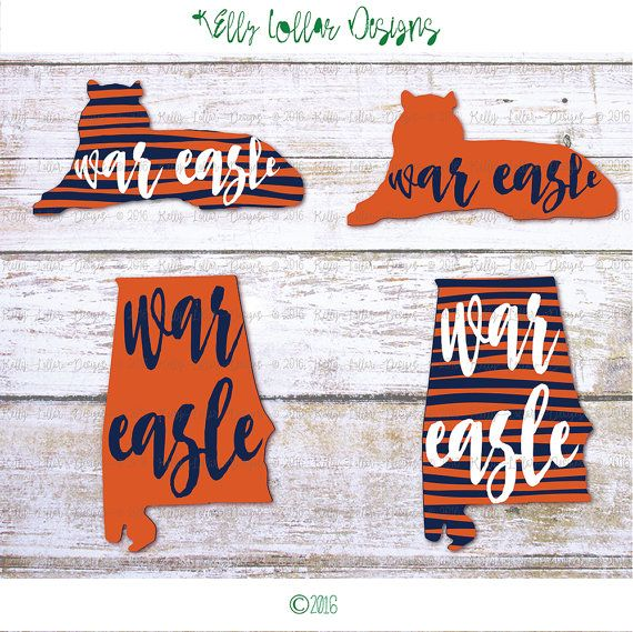 8 Auburn AL Football svg | Auburn, AL | Go Tigers | Tiger SVG | Cutting Files…