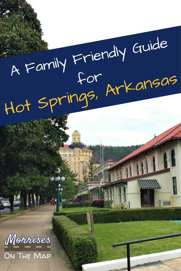 Let Morrises On the Map help you plan your visit to Hot Springs, Arkansas. We share family friendly activities and restaurants. From Hot Springs National Park to Mid America Science Museum, Hot Springs is a great place to visit with or without kids!