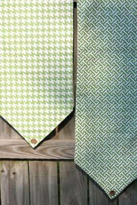 Sweet Something Design - DIY Table Runner w/upholstery fabric