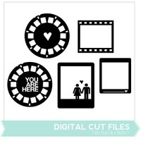 Photo Frames Digital Cut Files