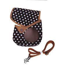 USD - Fuji FujiFilm Instax MINI 8 Camera Protect Case Bag Brown with White spots